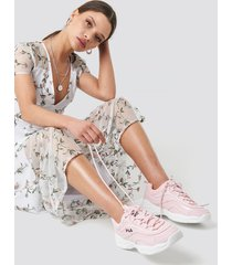 fila ray f sneaker - pink