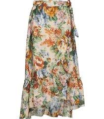boline knälång kjol multi/mönstrad stella nova