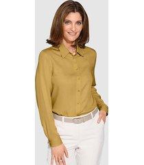 blouse mona mosterdgeel