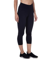 calça corsário control preto - 598.812 marcyn fitness calças e leggings preto