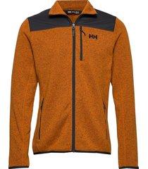 varde fleece jacket sweat-shirt trui oranje helly hansen