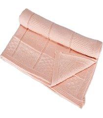 manta beb㊠tricot tric㔠maternidade recã‰m nascido cod 1040.1 rosa - multicolorido - dafiti