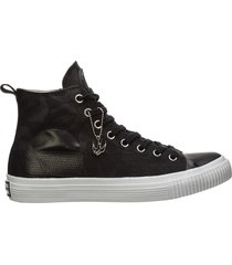 scarpe sneakers alte uomo swallow plimsoll