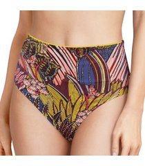 chantelle ethnic high waist bikini brief