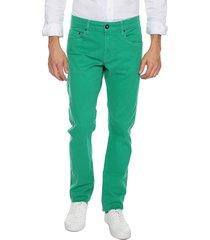 pantalon 10-green preppy 5 bolsillos 97% algodón 3% elastano bota 18