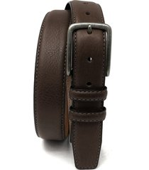 boconi clapton leather belt, size 40 in brown at nordstrom