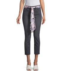 slim-fit ankle jeans