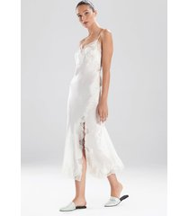 lolita gown pajamas / sleepwear / loungewear, women's, white, 100% silk, size s, josie natori