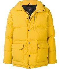 aspesi padded coat - yellow