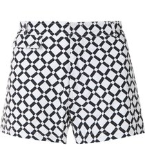 amir slama piso tactel swim shorts - white