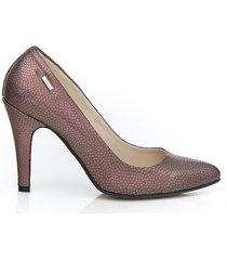 skórzane szpilki zapato 035 kolor benzynka
