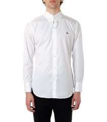 vivienne westwood white cotton shirt