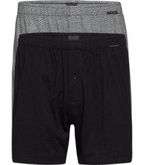 boxershorts boxerkalsonger grå schiesser