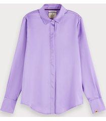 scotch & soda zijden blouse
