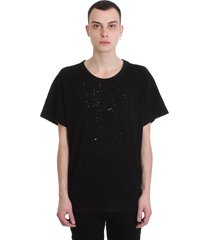 amiri t-shirt in black cotton