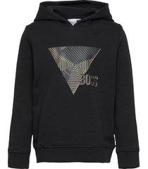 sweatshirt hoodie trui zwart boss
