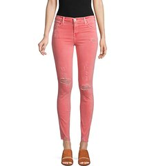 maria high-rise skinny-fit jeans