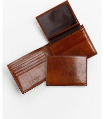 bosca id passcase wallet in amber at nordstrom