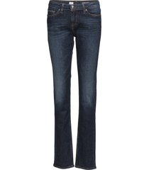 heritage rome straight rw jeans boot cut blauw tommy hilfiger