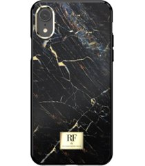richmond & finch black marble case for iphone xr