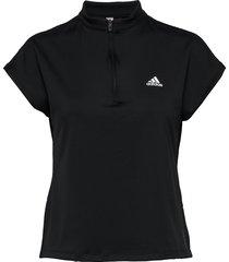 primeblue tee t-shirts & tops short-sleeved svart adidas performance