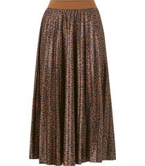 kjol vinitban print skirt