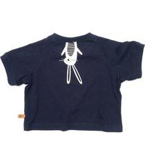t-shirt easter bunny navy