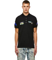 polera astars t night new b polo shirt negro diesel