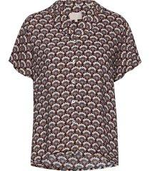 mili shirt blouses short-sleeved multi/patroon minus
