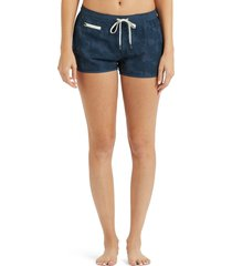 women's vuori tavi shorts, size medium - blue