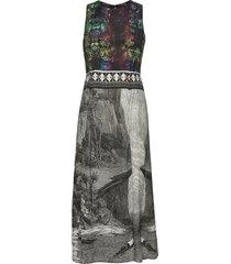 vest cooper jurk knielengte multi/patroon desigual