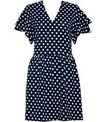 sukienka clara w grochy