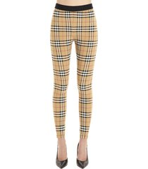 burberry belvoir leggings