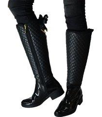 botas invierno outfit  negro