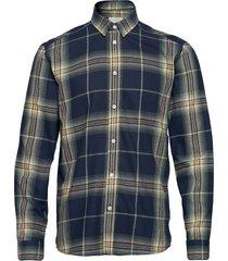 medin skjorta casual blå minimum