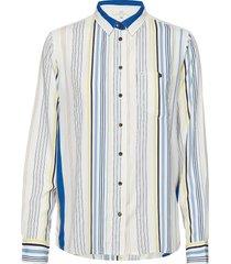 pocket shirt overhemd met lange mouwen multi/patroon lee jeans