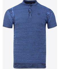 polo shirt korte mouw gabbiano denim 61070 poloshirt cobalt