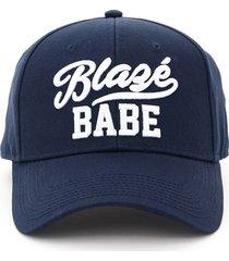 blazé milano baseball cap blaze babe embroidery