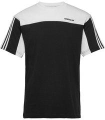 classics ss tee t-shirts short-sleeved svart adidas originals