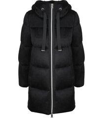 herno fur hoodie coat