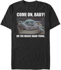 fifth sun men's magic hand thing short sleeve crew t-shirt