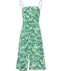 atlanta button front dress, green montana barn