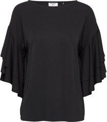 day pesca blouses short-sleeved zwart day birger et mikkelsen