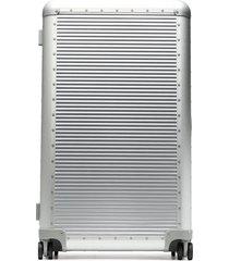 fpm milano bank spinner 84 aluminium suitcase - metallic