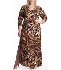 plus size cairo dress