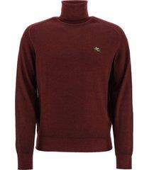 etro wool turtleneck sweater