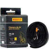 câmara de ar bicicleta 29 pirelli butyl presta