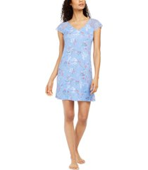 charter club lace sleeve nightgown, created for macy's
