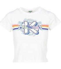kenzo boxy k waves t-shirt