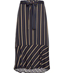 skirt maxi lång kjol multi/mönstrad marc o'polo